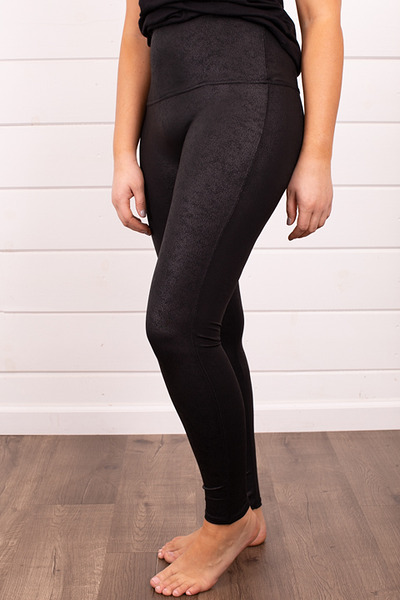 M. Rena Faux Leather Leggings 4