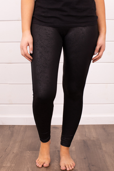 M. Rena Faux Leather Leggings