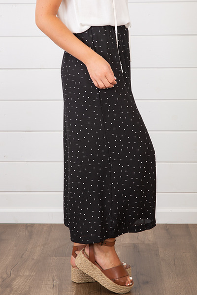 Lovestitch Polka Dot Crop Pant 3