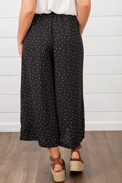 Lovestitch Polka Dot Crop Pant 2