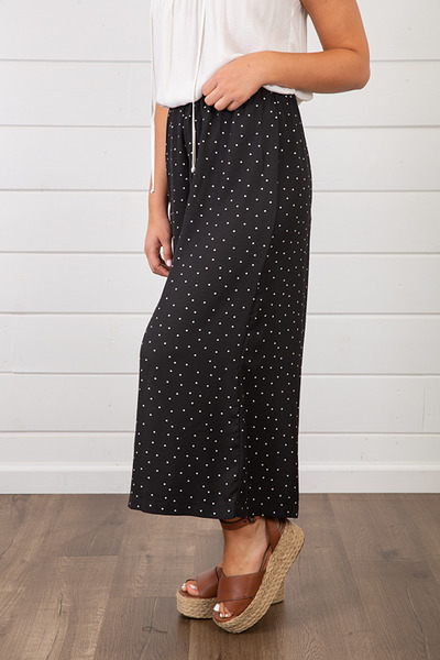 Lovestitch Polka Dot Crop Pant 4