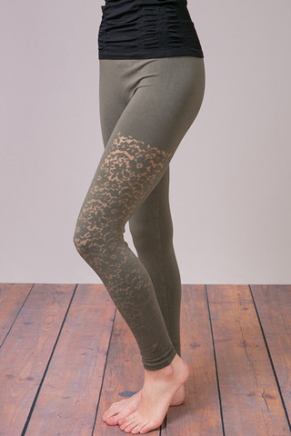 M. Rena Olive Night Lace Long Legging