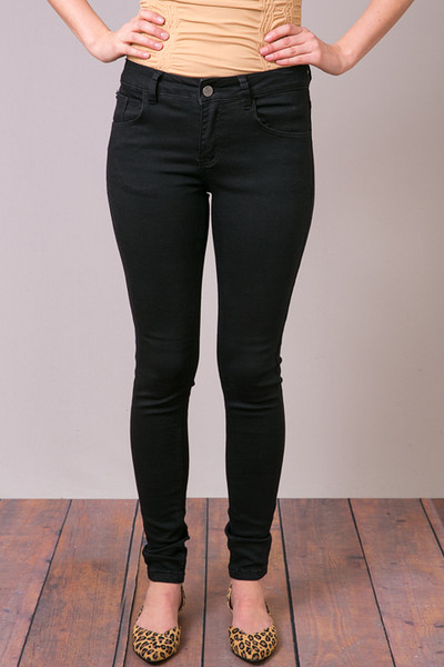 Mystree Black Stretch Skinny Jean 2