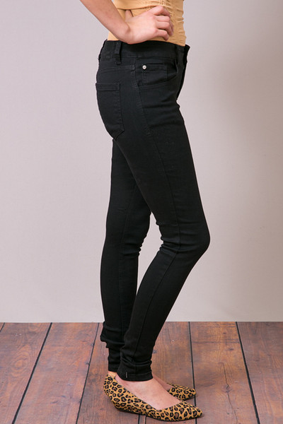 Mystree Black Stretch Skinny Jean 3