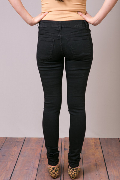 Mystree Black Stretch Skinny Jean 4