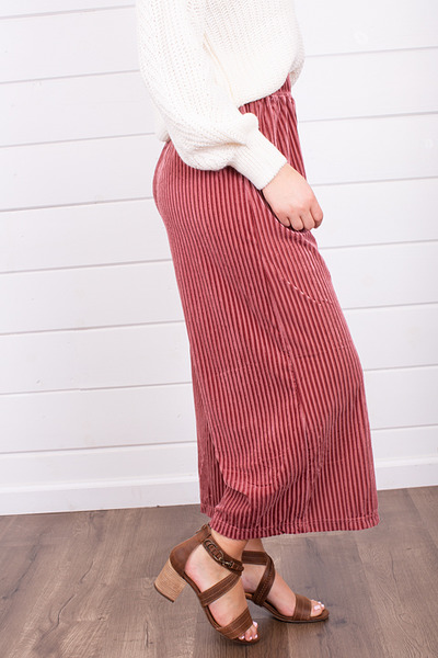 Mystree Candy Cane Wide Leg Pant 4