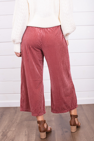 Mystree Candy Cane Wide Leg Pant 3