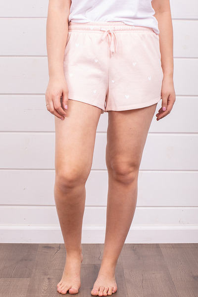 Z Supply Lover Fleece Short Rose 5