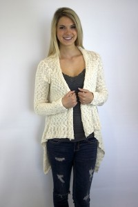Chunky High Low Sweater