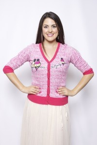 Lovebirds of a Feather Cardigan (Rose)
