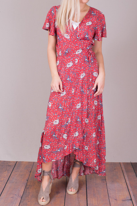 Auguste The Label Valentina Fiesta Wrap Maxi Dress 3