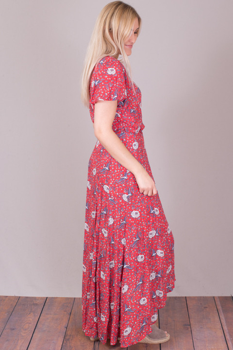 Auguste The Label Valentina Fiesta Wrap Maxi Dress 4