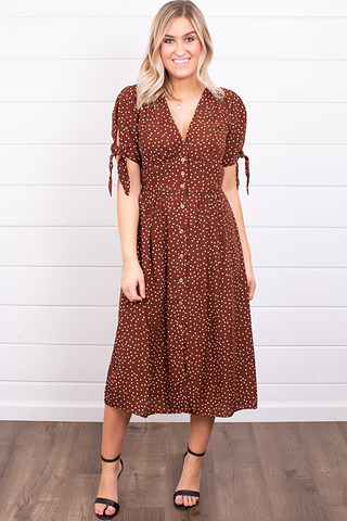 Blu Pepper Cinnamon Dress