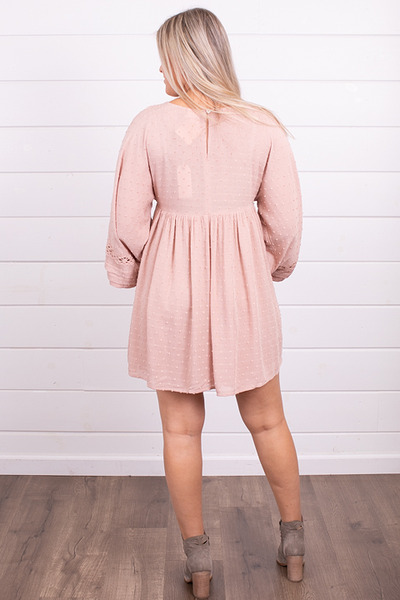 By Together Blush Crochet Dress 3