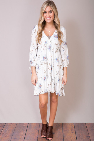 Entro Blue Belle Tunic Dress