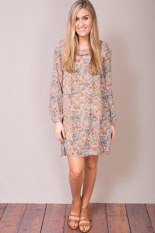 Entro Floral Babydoll Dress
