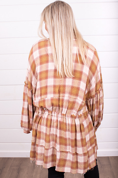 Free People By The Way Plaid Mini 2