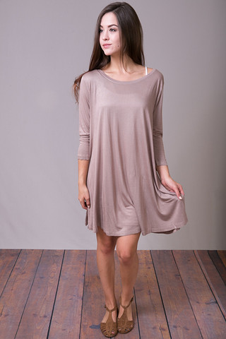 Hayden A Line Jersey Dress