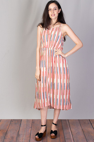 Mystree Summer Halter Dress