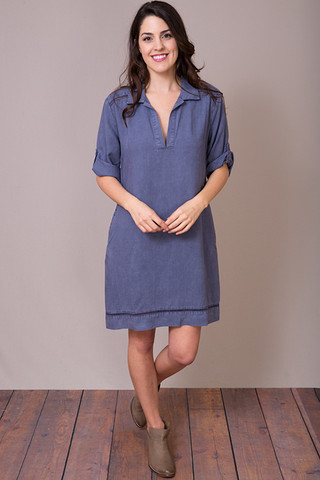 Bella Dahl Pullover Shirt Dress
