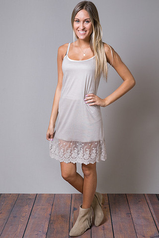 O2 Collection Scalloped Dress Slip