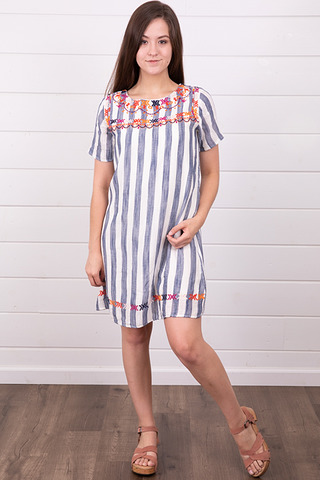 THML Wide Stripe Dress
