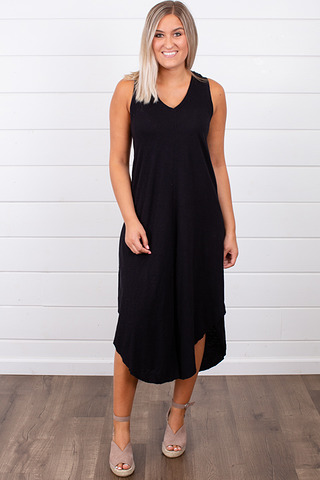 The Reverie Dress Blac..