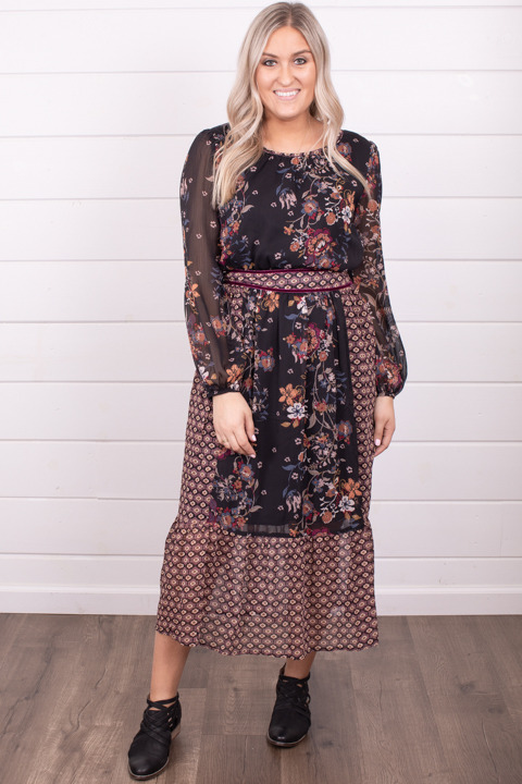 Mystree Hello Fall Midi