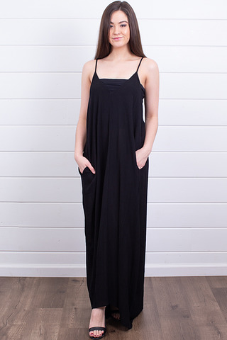 Lovestitch Cocoon Dress Black