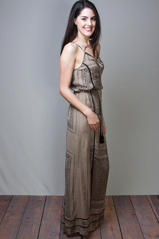 Elan International Black & Tan Maxi