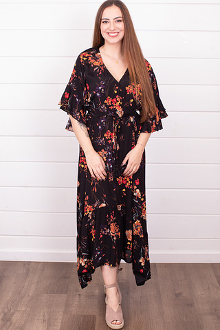 Lovestitch Hawaiian Sunset Maxi