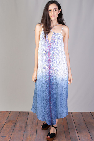 Mystree Ombre Printed Maxi