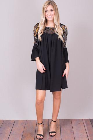 052b06cb75 Umgee Floral Velvet Shoulder Dress