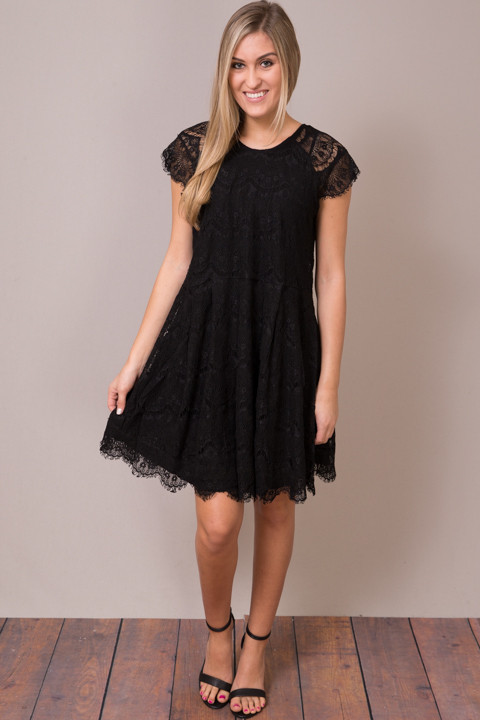 Hazel Lacey Black Dress