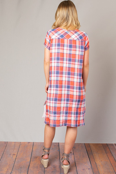 6a264e1ed10 Surya Drape Tunic Dress | Dress | Johnny Was Collection