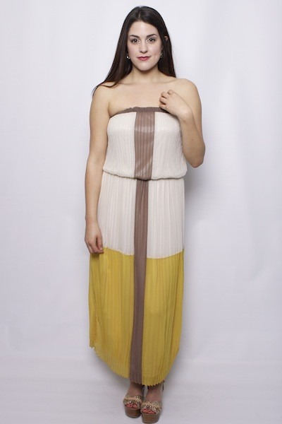 Mystree Sugar and Spice Pleated Dress
