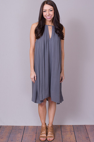 Bella Dahl Handkerchief Halter Dress
