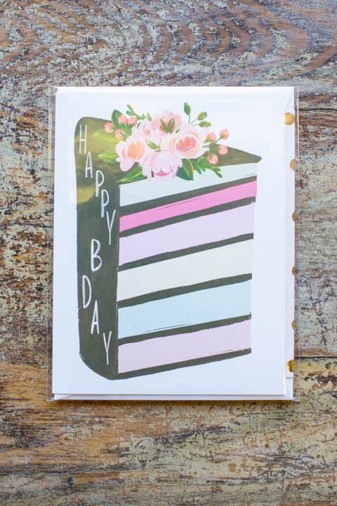 Layered Cake Card