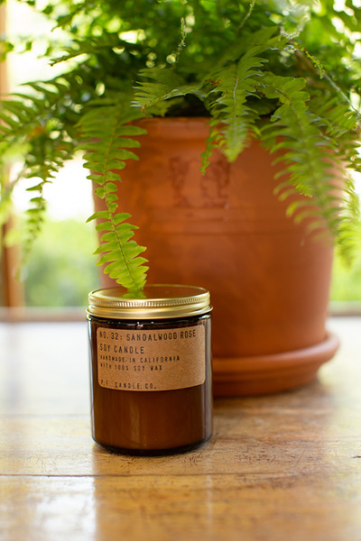 P.F Candle Co. Sandalwood Rose Candle