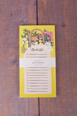Rifle Paper Co. Farmers Market List
