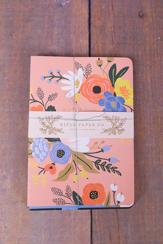Rifle Paper Co. Lively Floral Notebooks