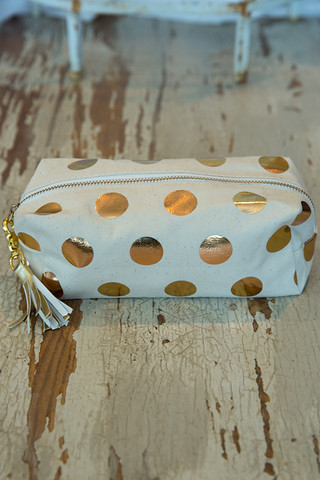 Ladies Choice Cosmetic Gold Dots