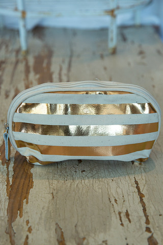 Jet Setter Cosmetic Bag Stripes