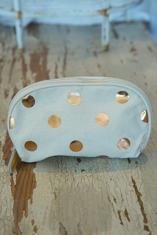 Jet Setter Cosmetic Bag Dots