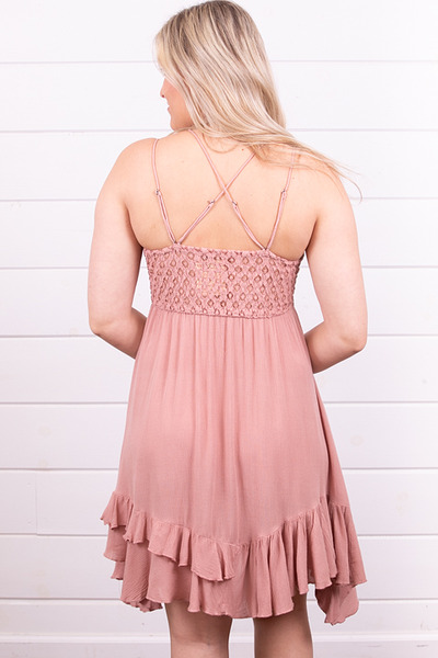 Free People Adella Slip Rose 4
