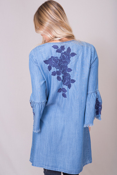Billy T Rose Embroidered Jacket 3