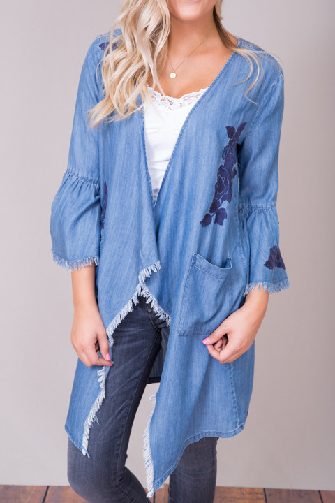 Billy T Rose Embroidered Jacket 4