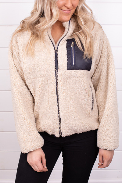 By Together Cozy Sherpa Jacket 4
