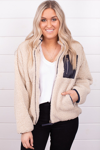 By Together Cozy Sherpa Jacket
