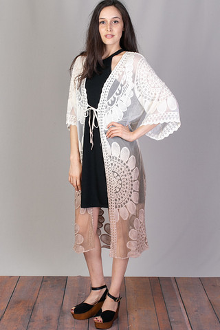 Mystree Lace Ombre Duster